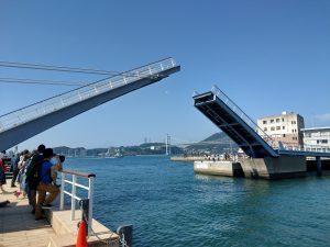 跳ね橋。名前は失念しました。